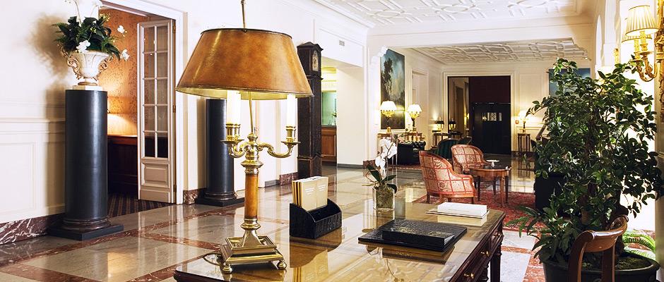 La hall dell'Hotel Sitea