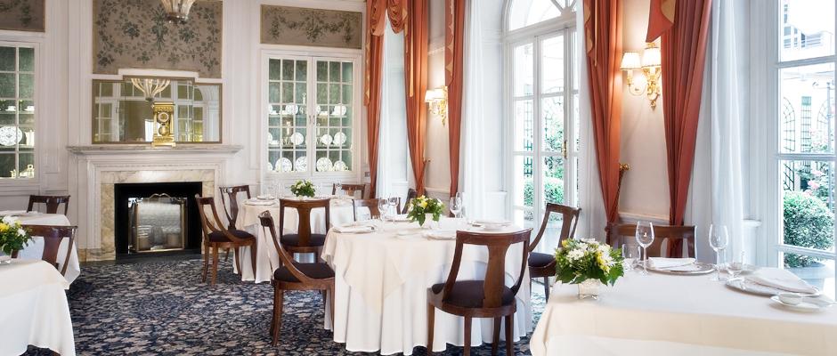 La sala da pranzo del Carignano