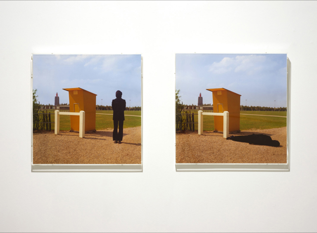 Untitled (Westkapelle, Holland), 1971/ 2003 Two Color C-type prints in acrylic frame Two parts: 16 x 16 in each / 40.6 x 40.6 cm each (image size) Edition of 3