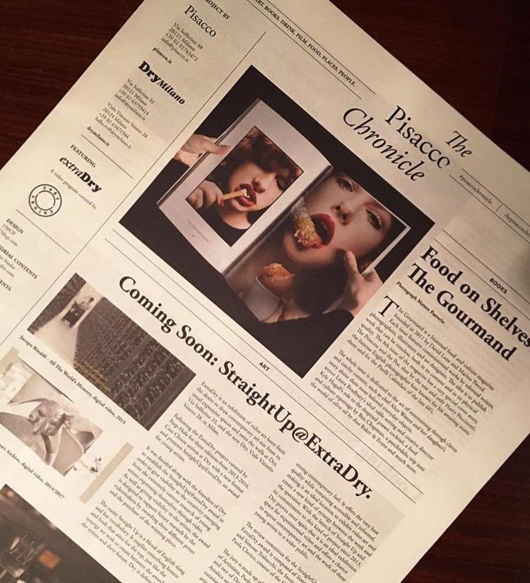 Il primo numero di The Pisacco Chronicle Credits: @Roberto Confalonieri