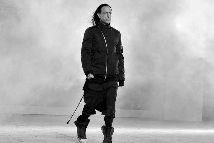 Rick owens sample sale milan spazio edit milano zero for Rick owens milan
