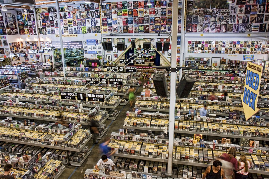 (ovviamente) Amoeba Records a Los Angeles