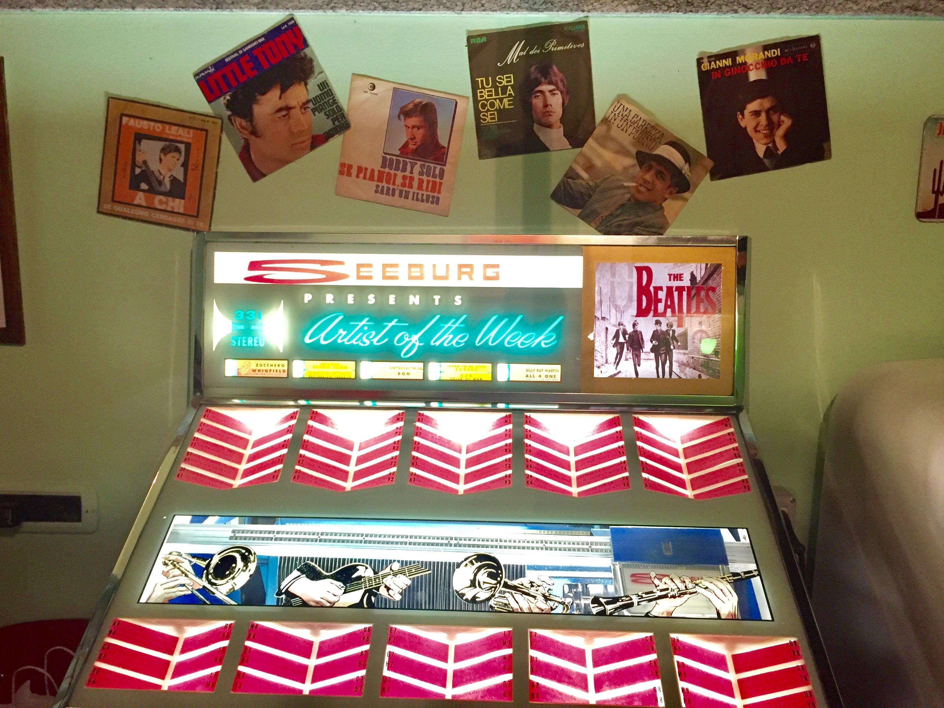 Il jukebox vintage