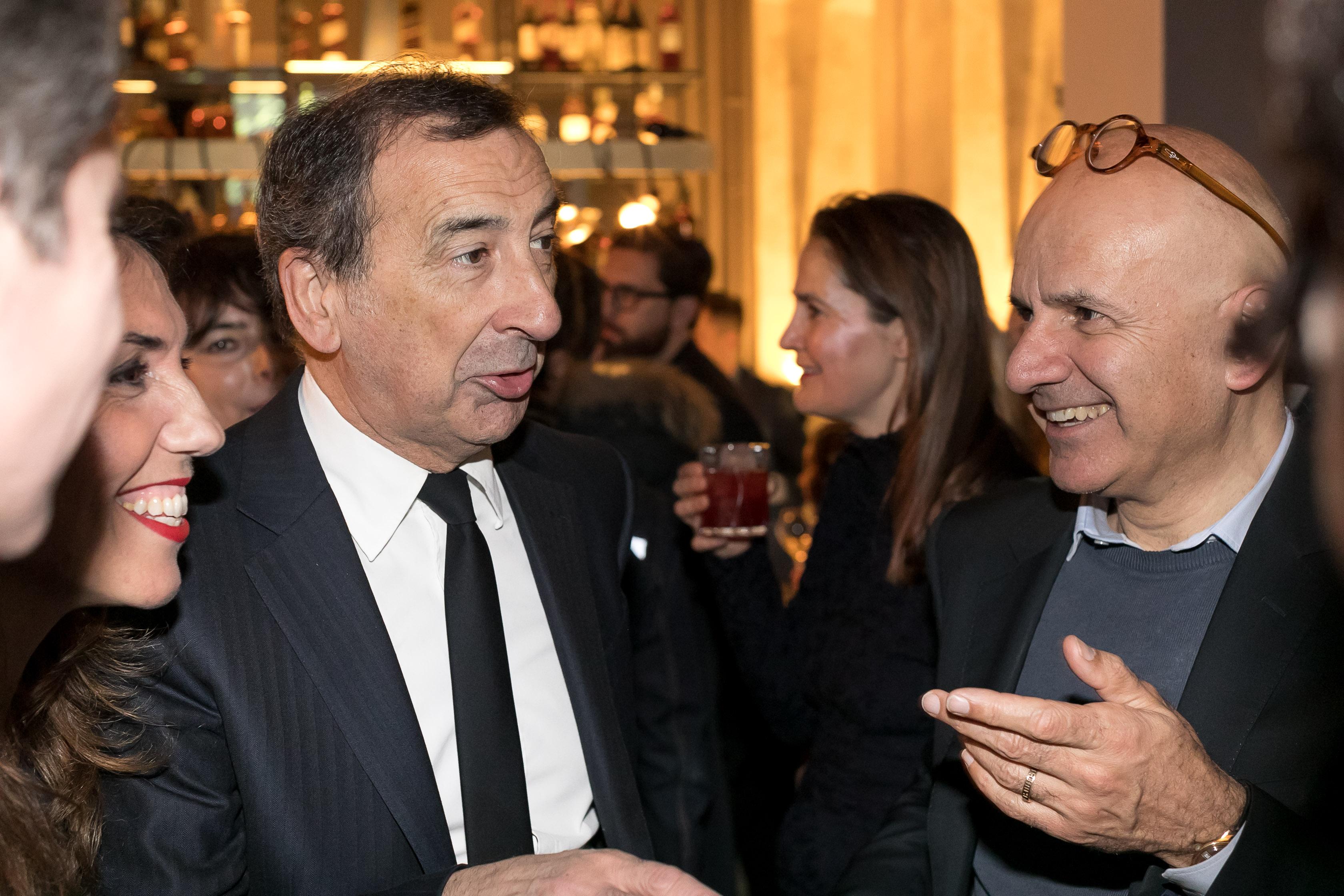 Il sindaco Sala in azione all'evento di inaugurazione del Dry Milano