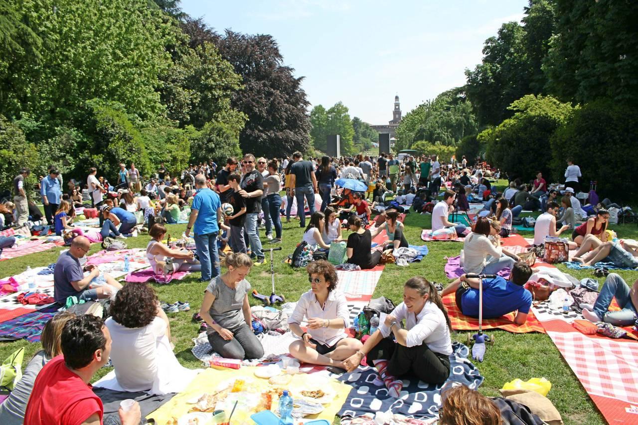 Pixel picnic parco sempione milano zero for Living milano sempione