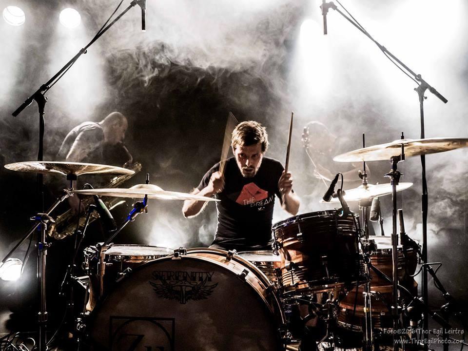 Zu live. Foto di Thor Egil Leirtrø.