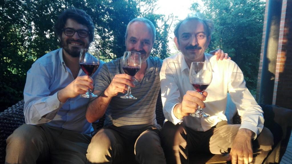 (da sinistra) Corrado  Beldì, Enrico Bettinello e Massimo Iudicone