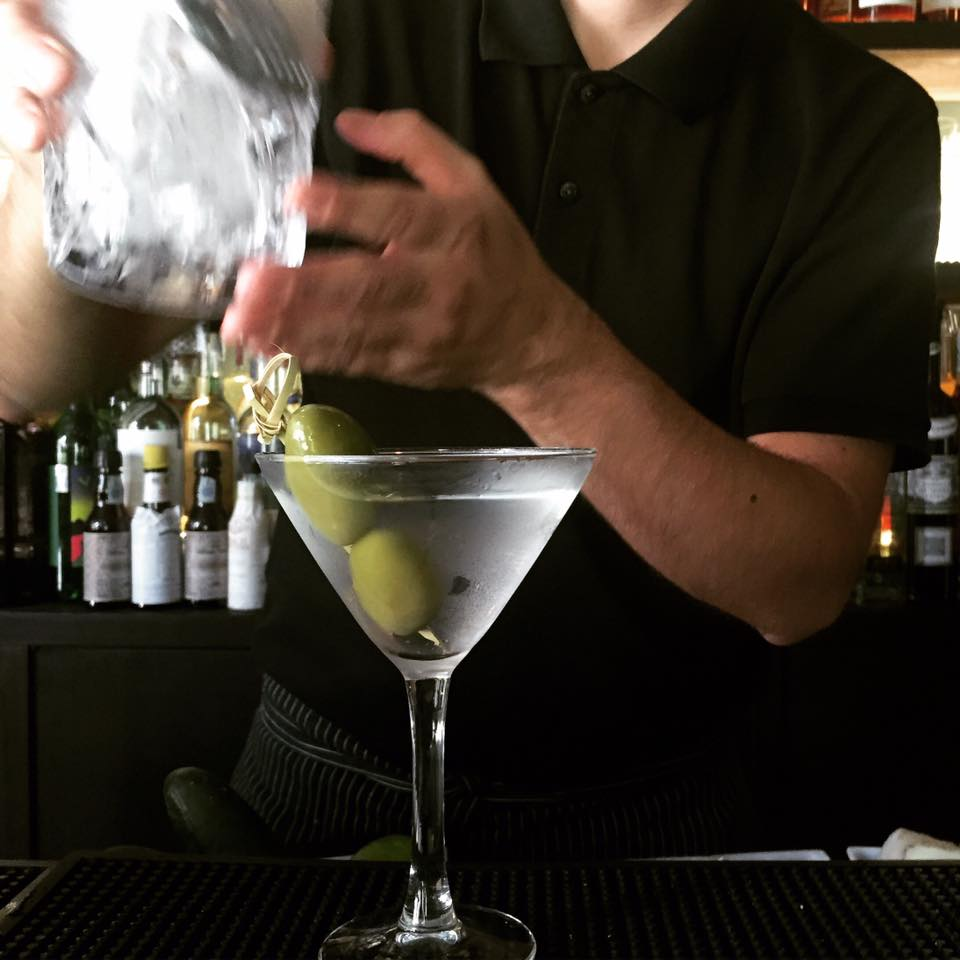 Un Martini Cocktail all'Idéal