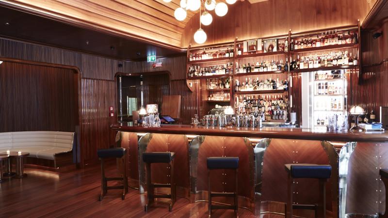L'Octavius Bar all'interno del The Stage, ristorante della Replay