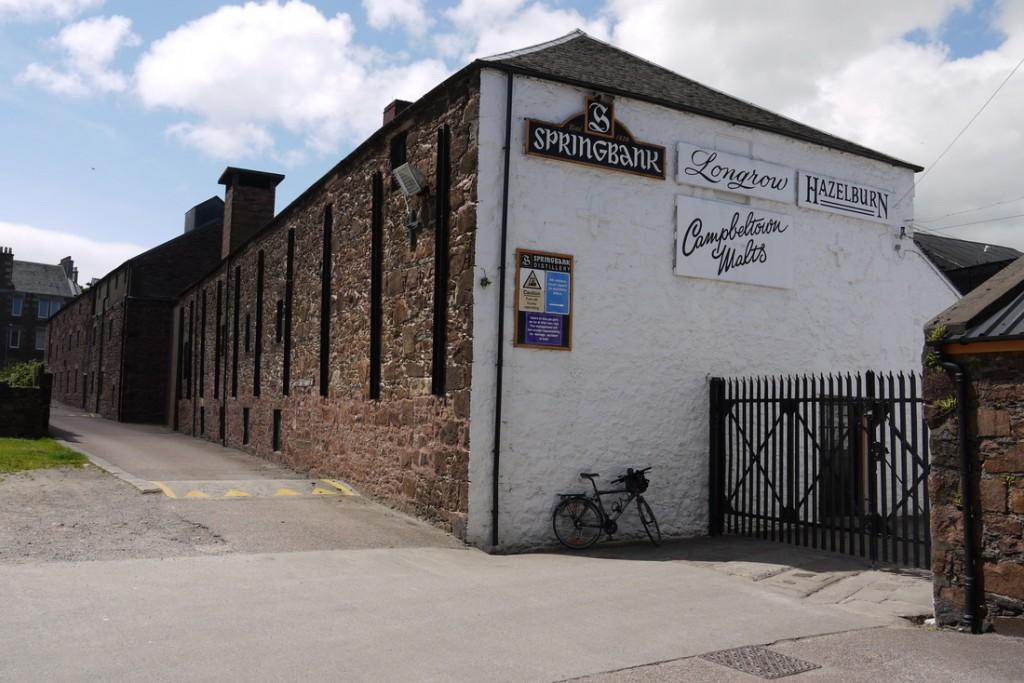 La distilleria Springbank.
