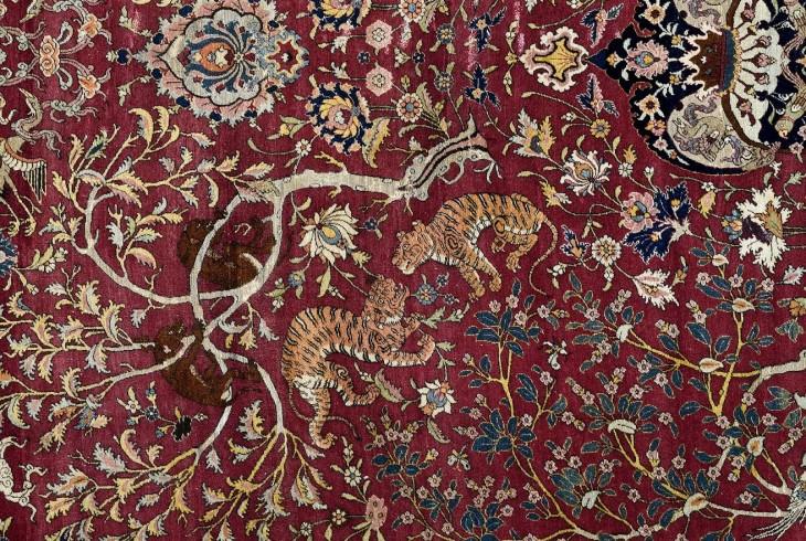 I tappeti persiani del museo poldi pezzoli museo poldi pezzoli milano zero - Tappeti persiani milano ...