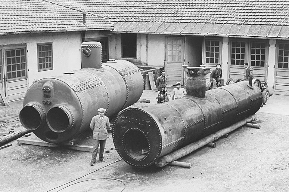 Una vecchia foro della Distilleria Quaglia.