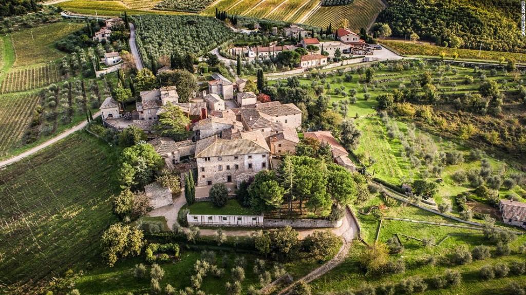 La tenuta del Castello di Ama.