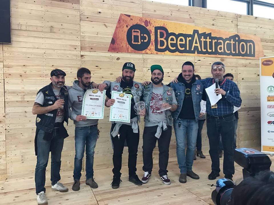 Eternal City Brewing e i riconoscimenti ottenuti al Beer Attraction di Rimini.