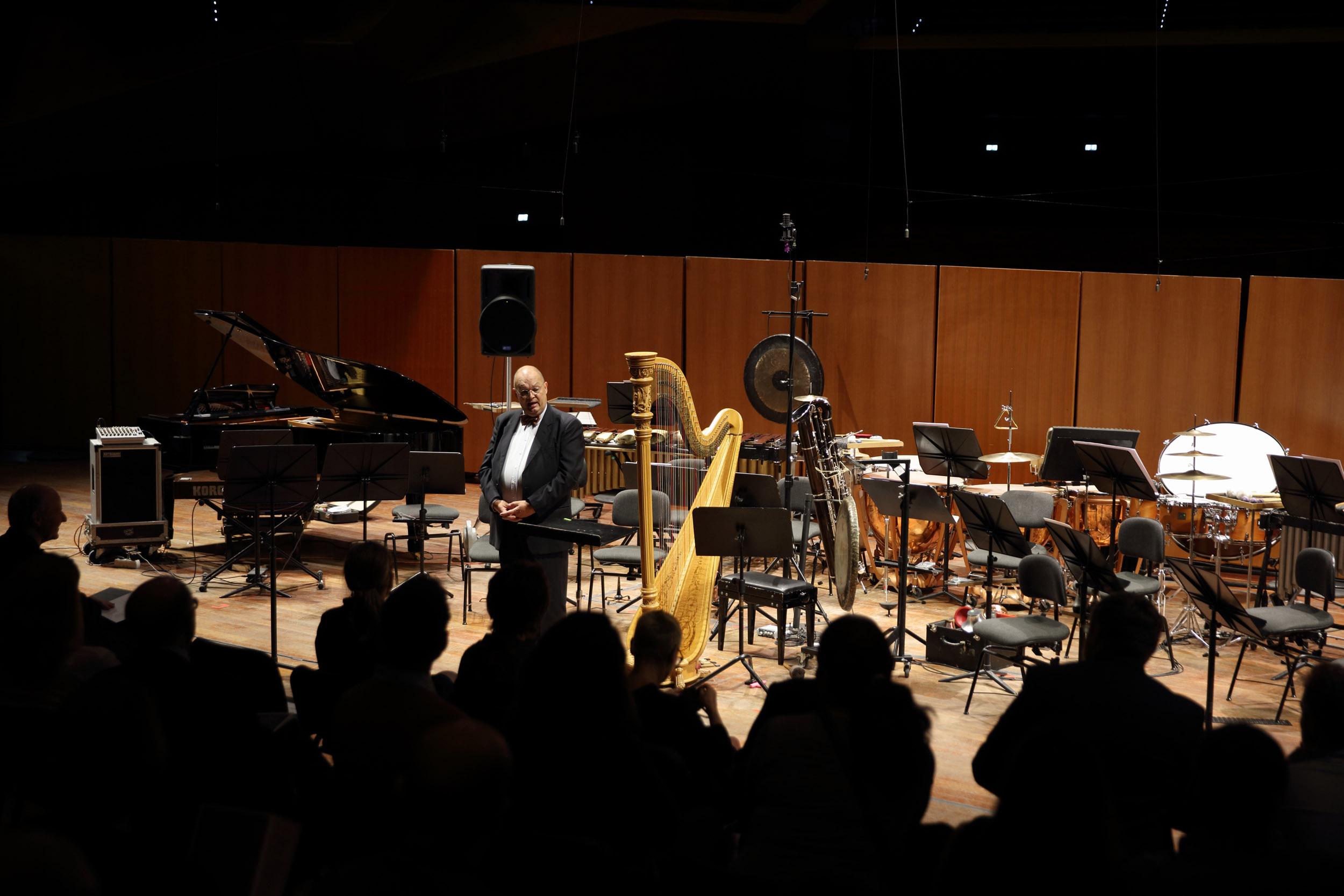 Il Concerto di Villa Massimo all'Auditorium. Foto di Alberto Novelli.