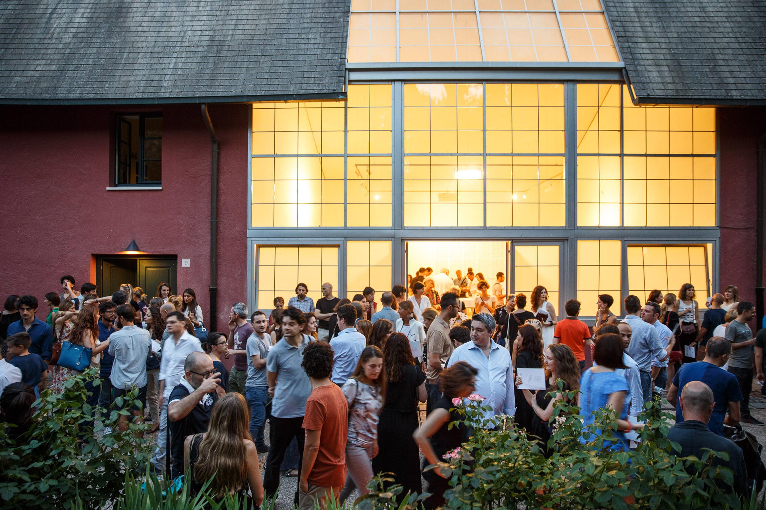 Gli atelier degli artisti in mostra. Foto di Alberto Novelli.