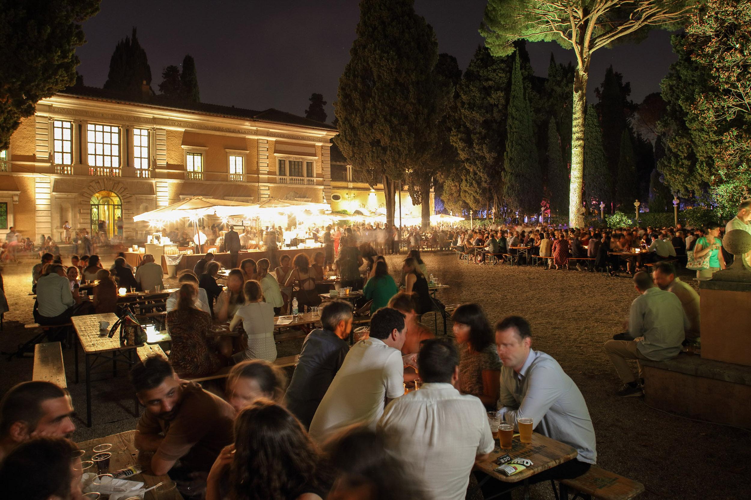 La festa dell'estate 2017 a Villa Massimo. Foto di Alberto Novelli.