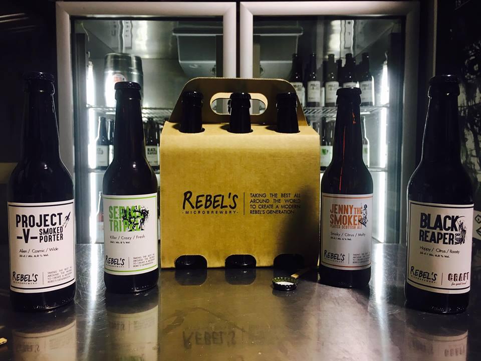 Qualche birra a firma Rebel's.