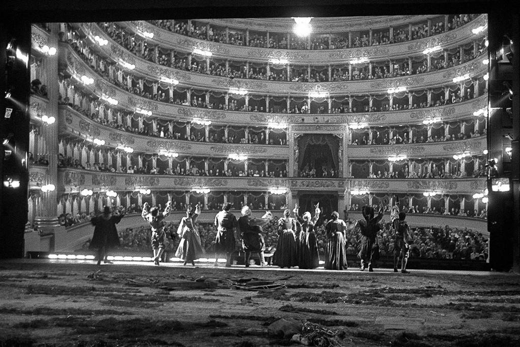 Finale del  Falstaff a la Scala  © Lelli Masotti