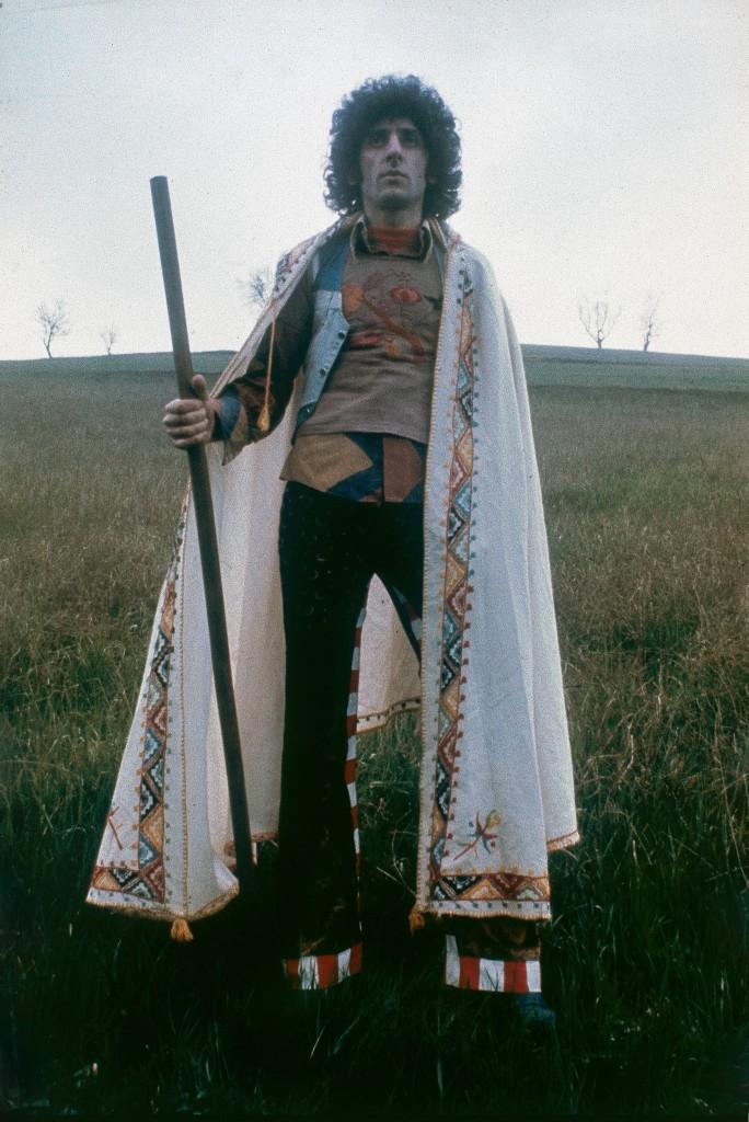 Franco Battiato a Bologna 1973 © Roberto Masotti
