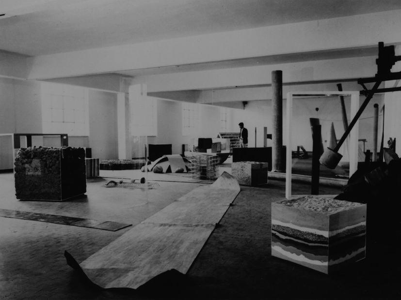 Sperone, Deposito d'arte Presente, 1967-8