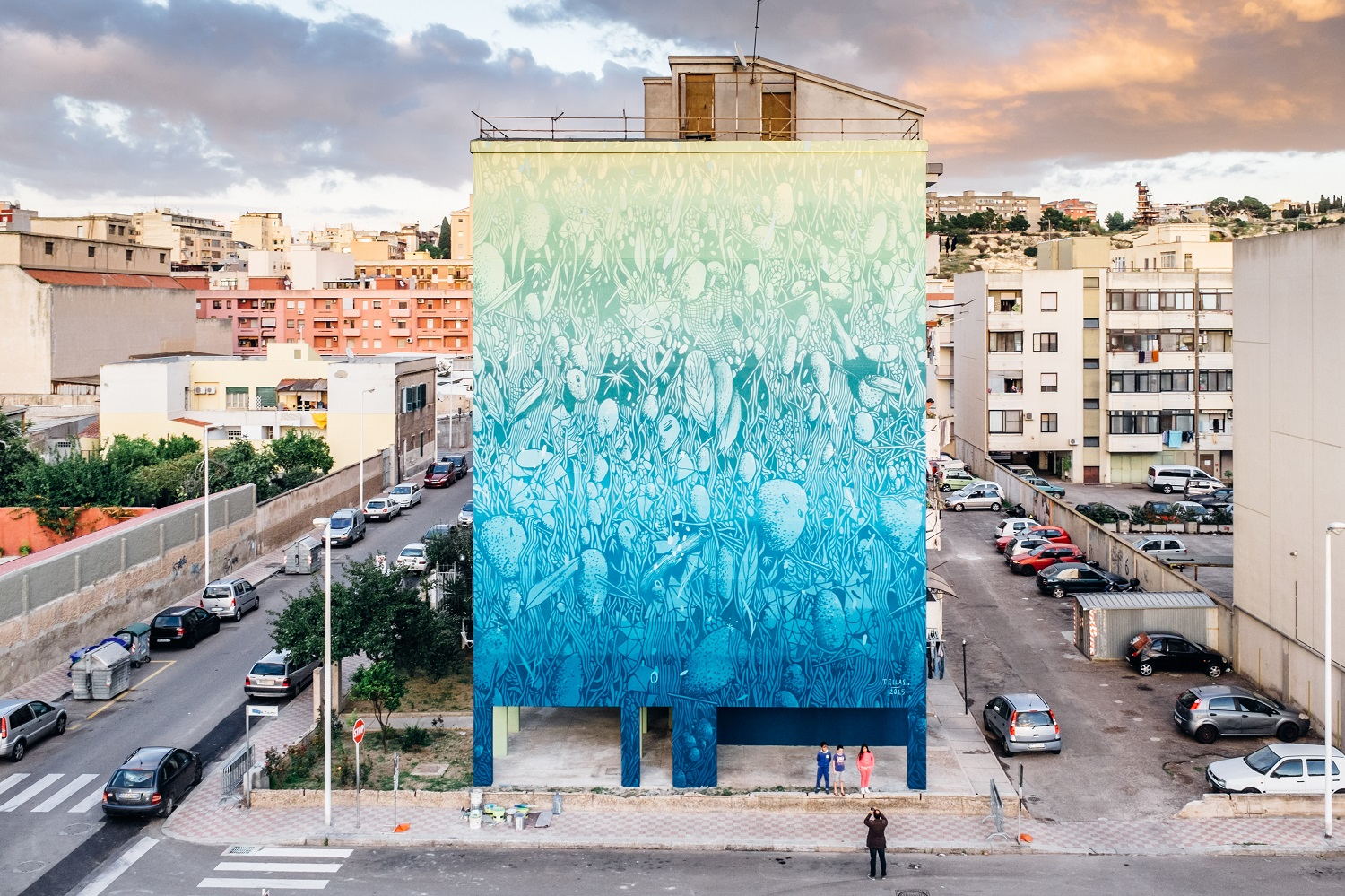tellas- for cagliari Capitale della cultura 2015 - Cagliari  IT- photo by Antonio Pintus