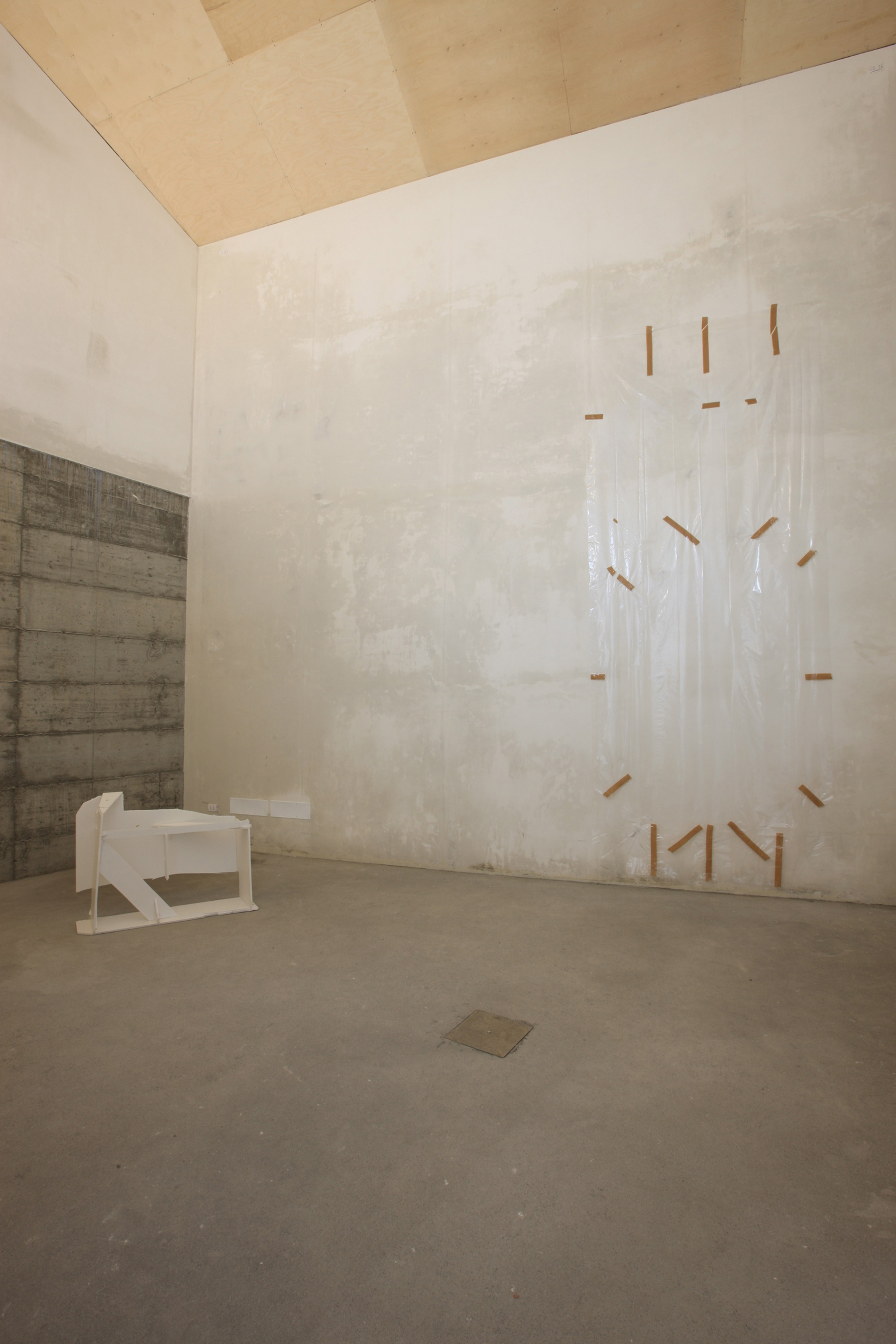 installation view, Gedi Sibony, ZERO..., Milano, 2008 Foto: Agostino Osio Courtesy of the artist and ZERO..., Milano