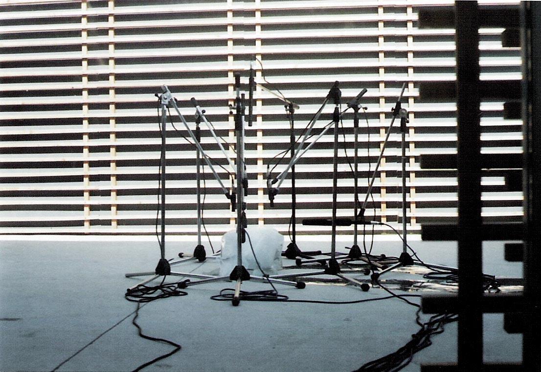 "Paul Kos The sound of ice melting, 1970-2004 installation view, ""Beuys don't cry"", ZERO..., Milano, 2004 Courtesy of the artist and ZERO..., Milano"