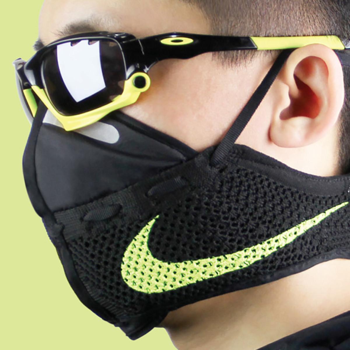 Nike flyknit mask by Zhijun Wang