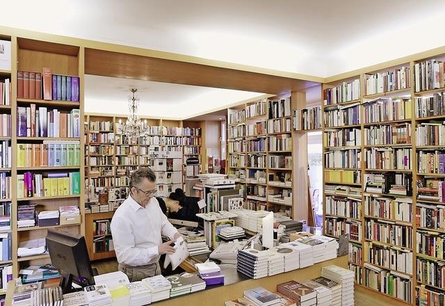 Spezialisierte Buchhandlungen in Zürich - Rico Bilger's sec 52 an der Josefstrasse