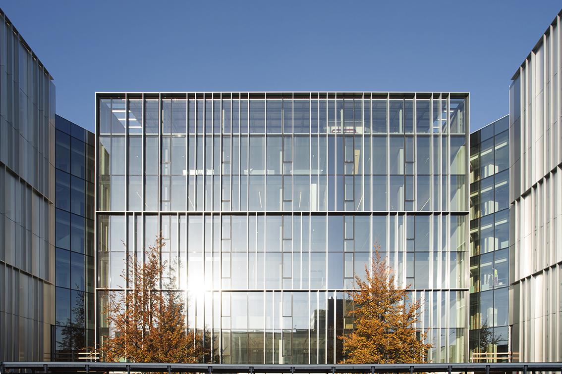via Chiese - edificio per uffici - ristrutturazione- Cantiere novembre 2017 - facciata sud