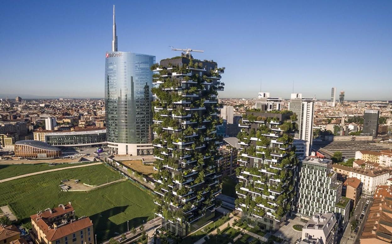 Foto Bosco Verticale Milano bosco verticale   zero