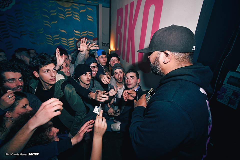 Apollo Brown al Biko (foto di Davide Hugo Manea)