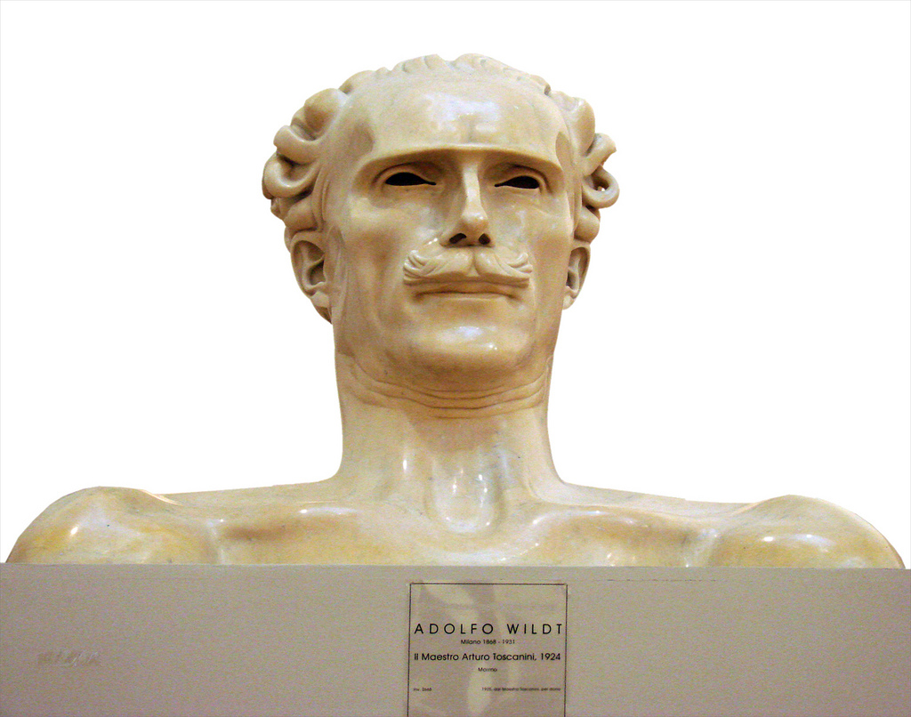 Adolfo Wildt,  Arturo Toscanini, 1924