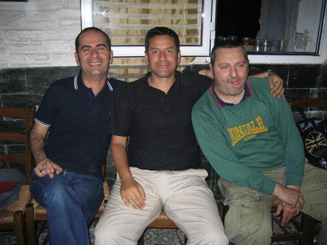 Da sinistra: Leo Mastropierro, Marco Dall'Asta, Carlo Campaiola.