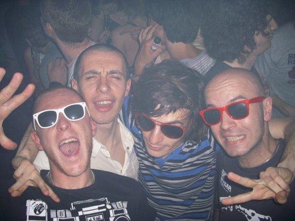 Simo Mace, Zizzed, Rocco, Alex di Reset!