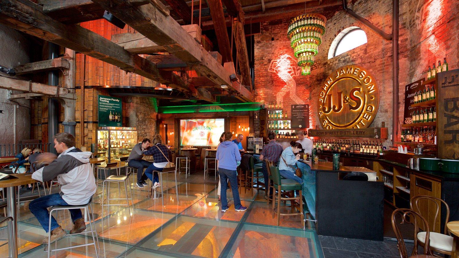 La vecchia distilleria di Jameson Irish Whiskey