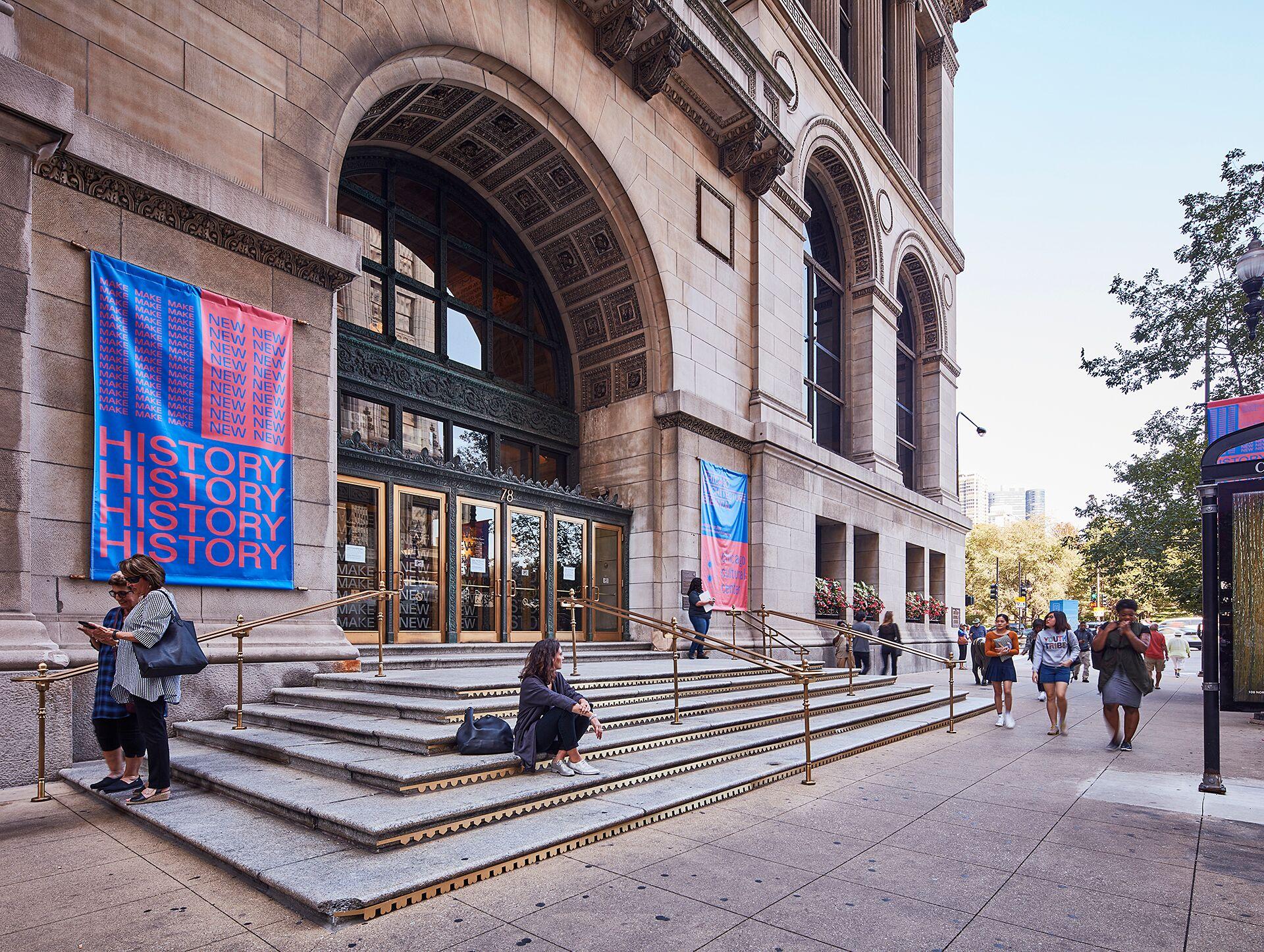 Ornament, Chicago Biennale 2017 Foto Tom Harris