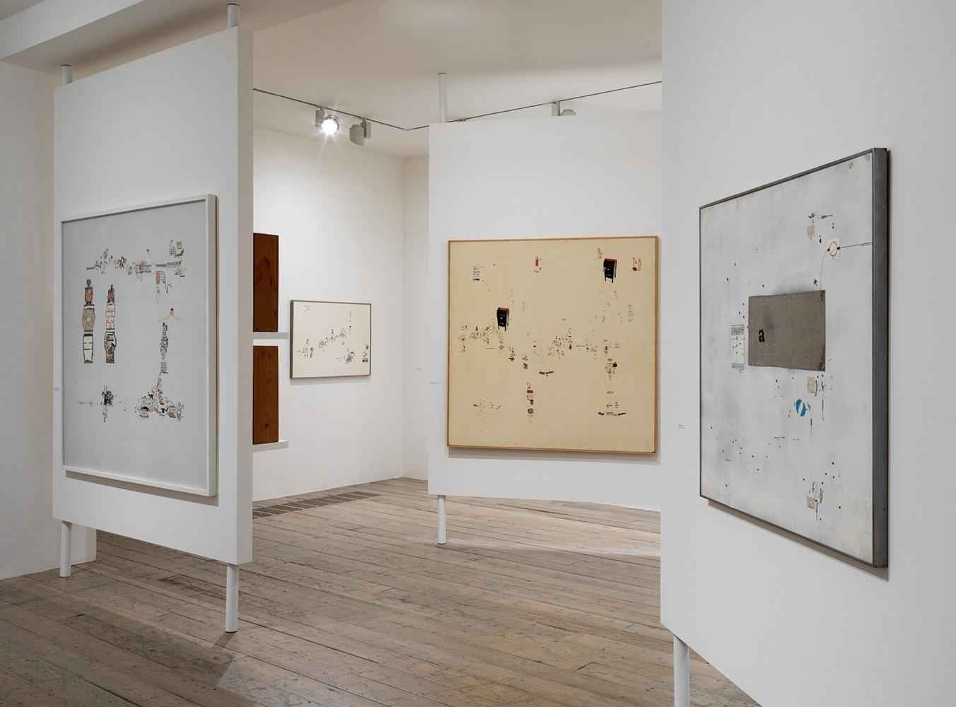 Gianfranco Baruchello- Incidents of Lesser Account installation