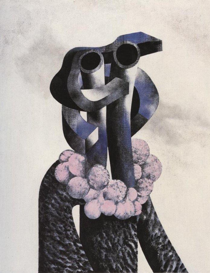 Bobo Piccoli, Dama in astrakan, 1980