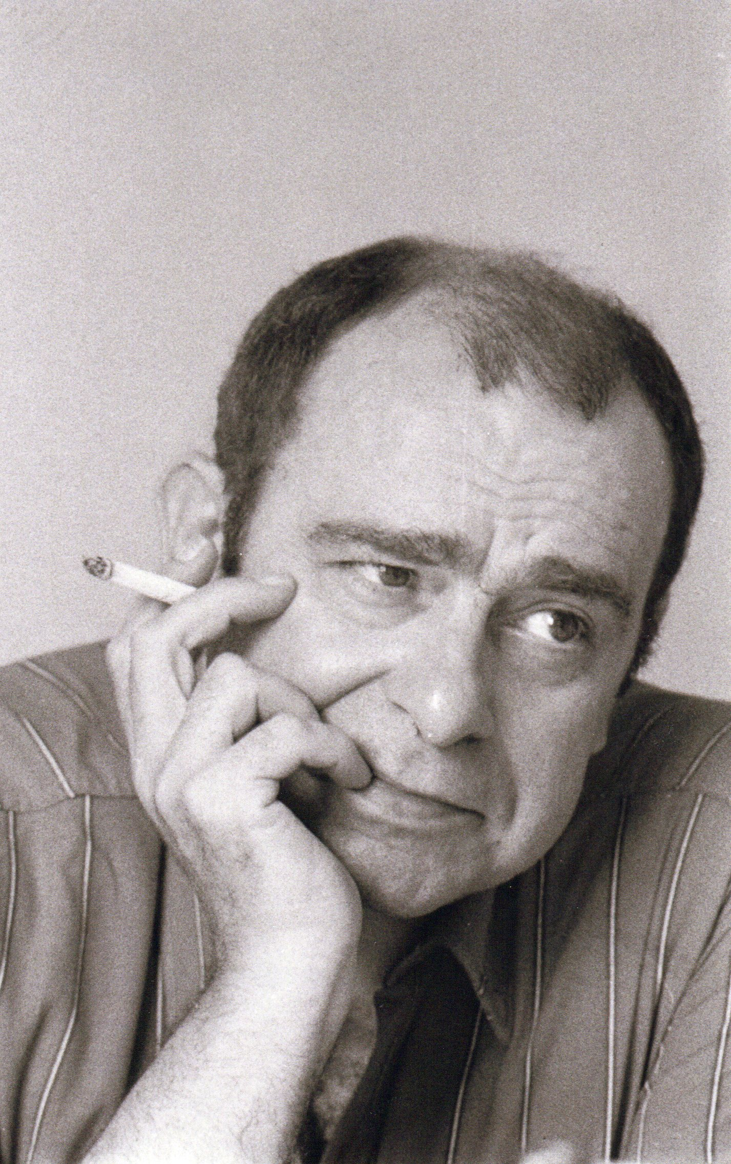 Ritratto di Bobo Piccoli, 1973 – ph. Marirosa Toscani Ballo