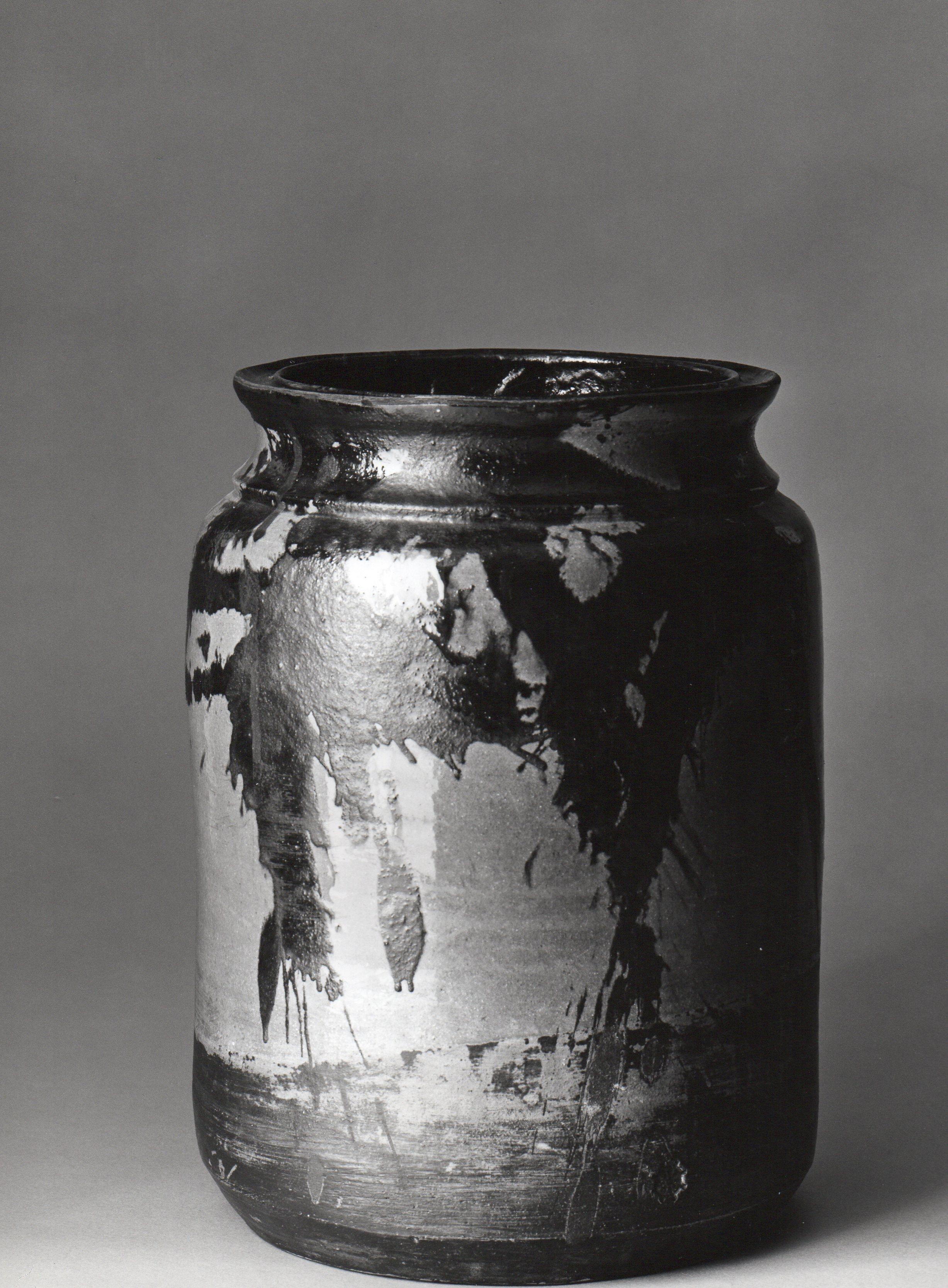 Vaso Celadon, esposto in Biennale Venezia, 1972 ph. Aldo Ballo