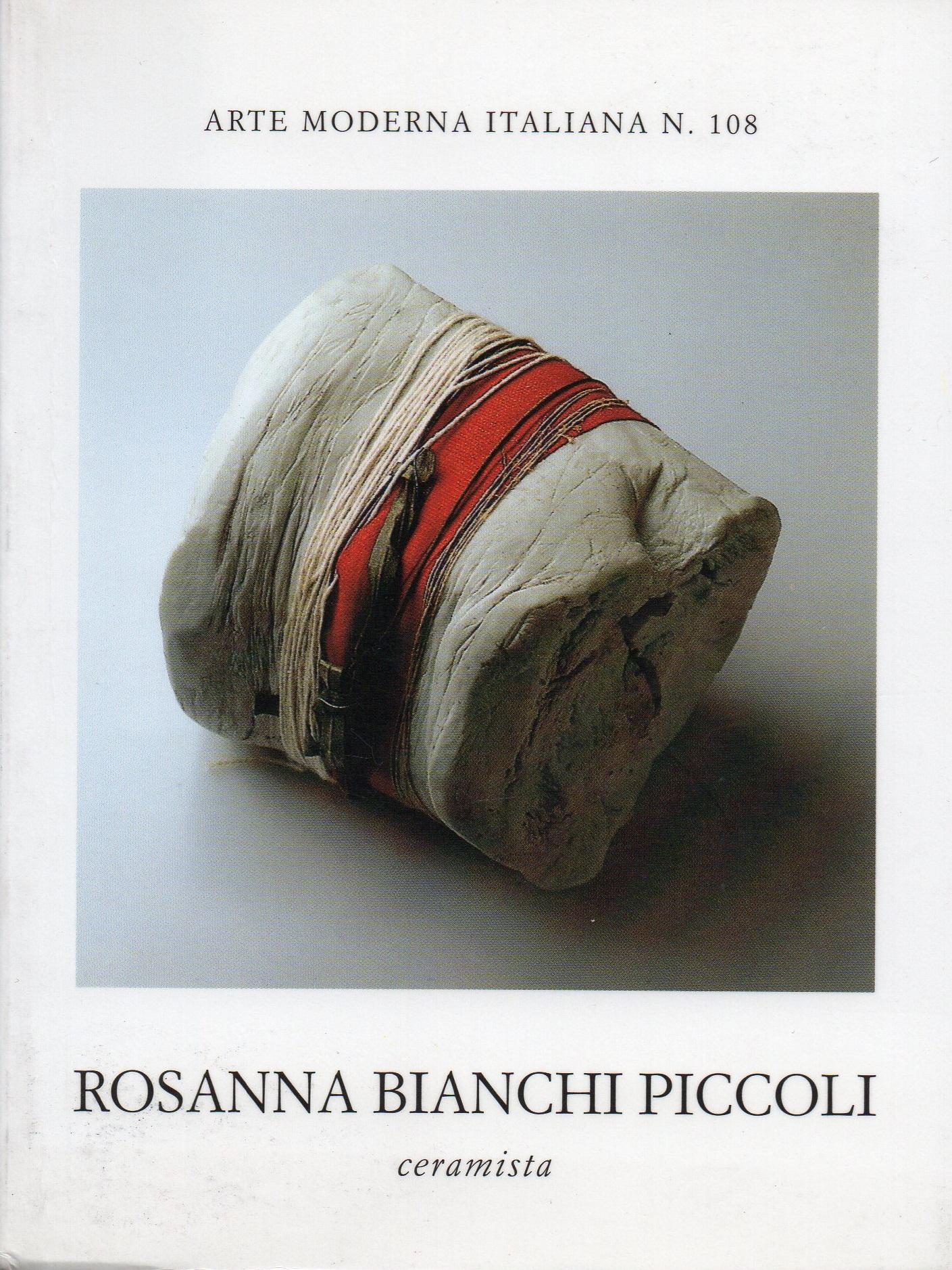 Copertina di Arte Moderna Italiana n°108, edizioni Scheiwiller, Milano 1995