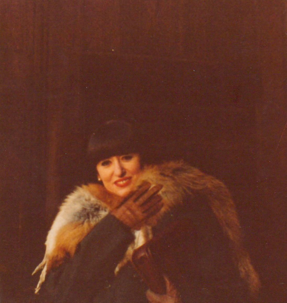 Ritratto di Rosanna Bianchi Piccoli, Milano, 1980