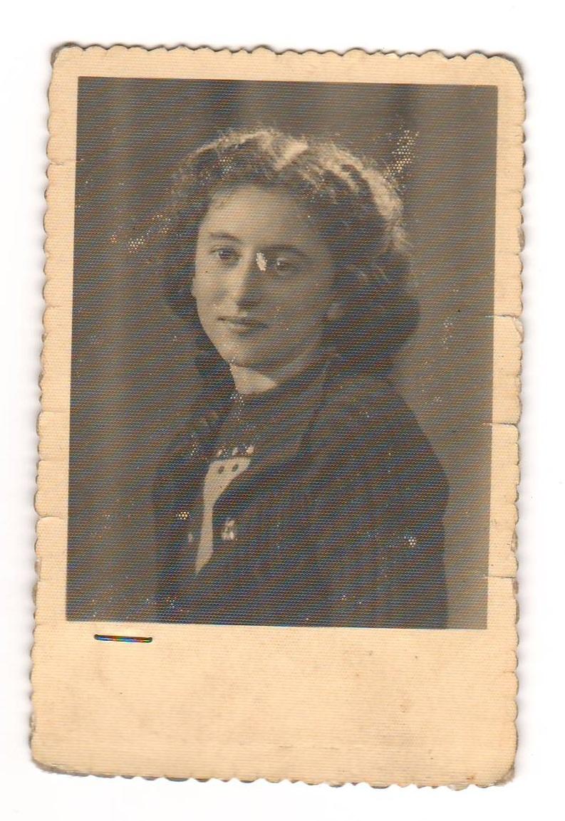 Ritratto di Rosanna Bianchi, 1947 circa, ph. Farabola