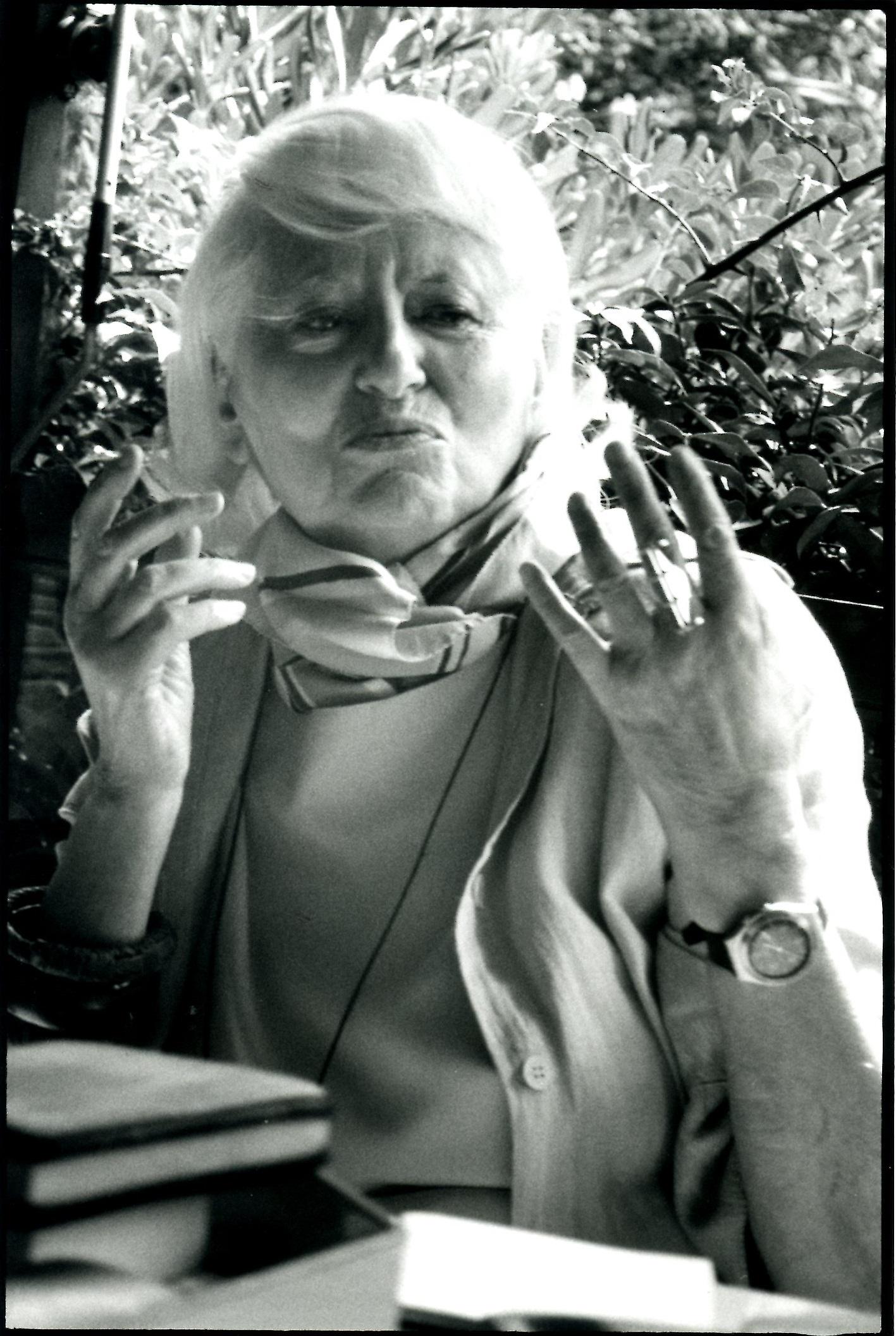 Ritratto di Rosanna Bianchi Piccoli, 2004 – Ph Marirosa Toscani Ballo