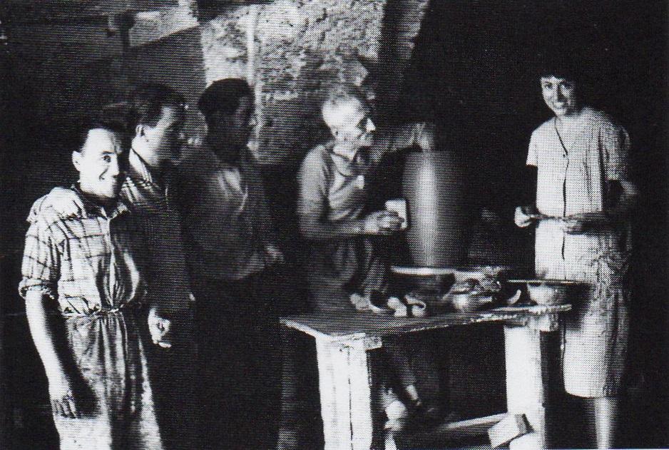 Nella bottega di Mastro Zizì Tritapepe – Lanciano, 1958