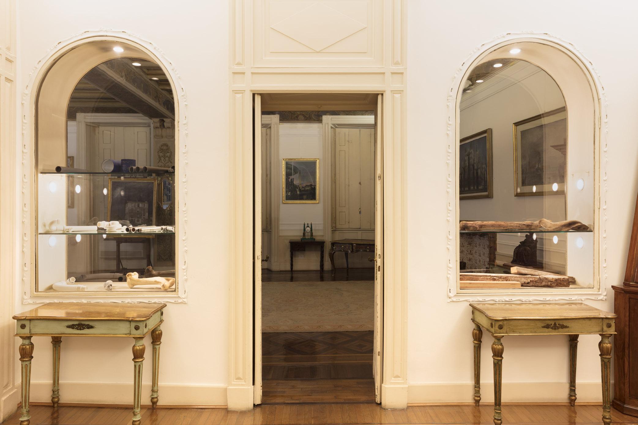 Jimmie Durham @Fondazione Pini, foto Andrea Rossetti