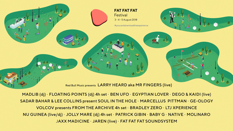 fat fat fat 2018 line up