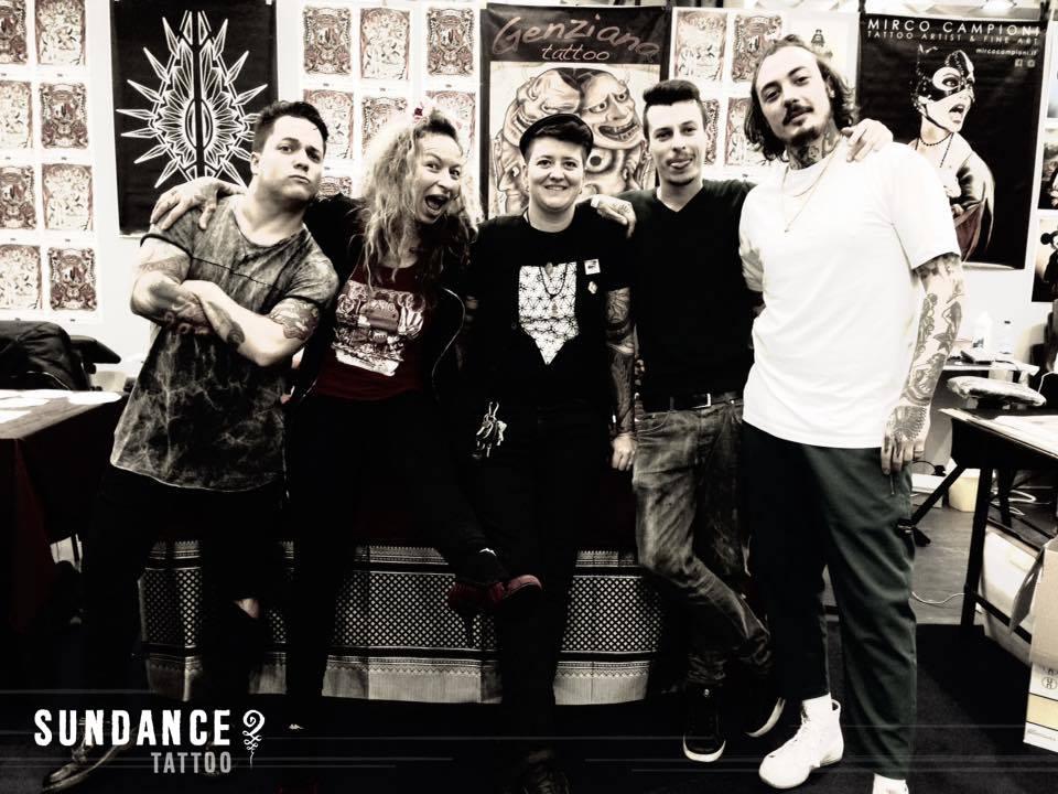 La squadra del SundanceTattoo